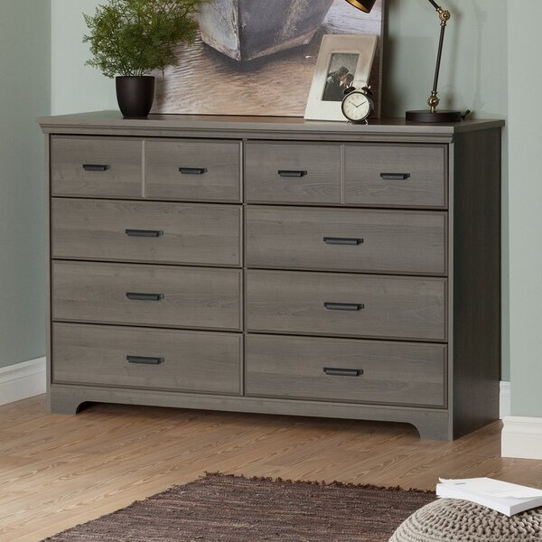 Versa 8 Drawer Double Dresser by South Shore