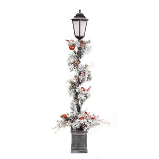 Find the perfect Ebony Pine Potted 60 Lamp Post By The Holiday Aisle