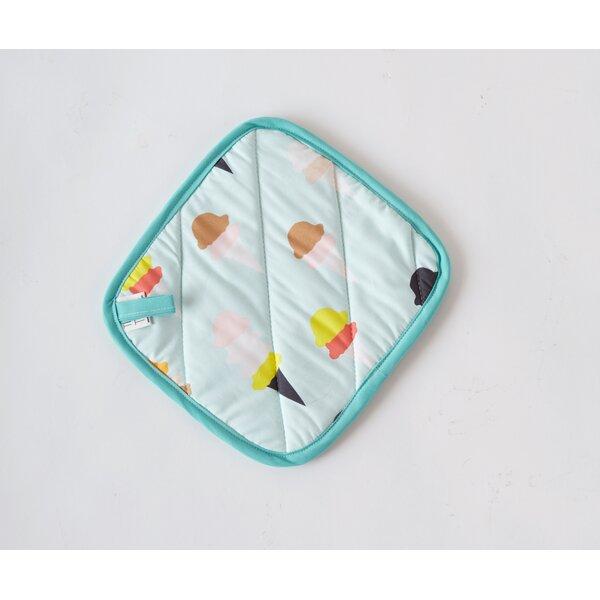 Ice Cream Print Potholder by Textile & Twine