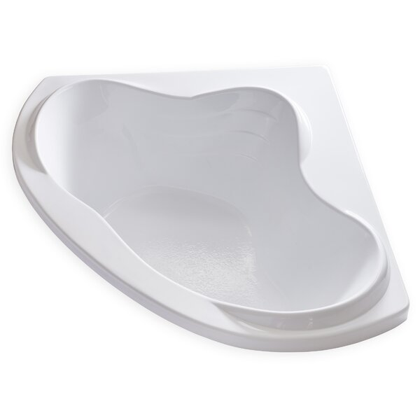 Hygienic 59 x 59 Soaking Bathtub by Carver Tubs