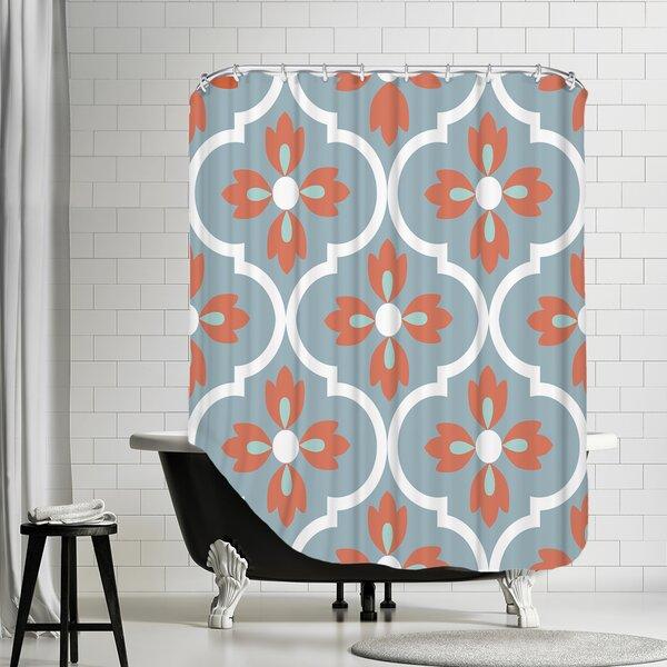 Boho Shower Curtain by East Urban Home