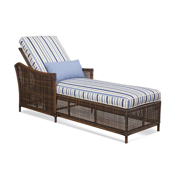 Palermo Patio Reclining Chaise Lounge with Cushion by Braxton Culler