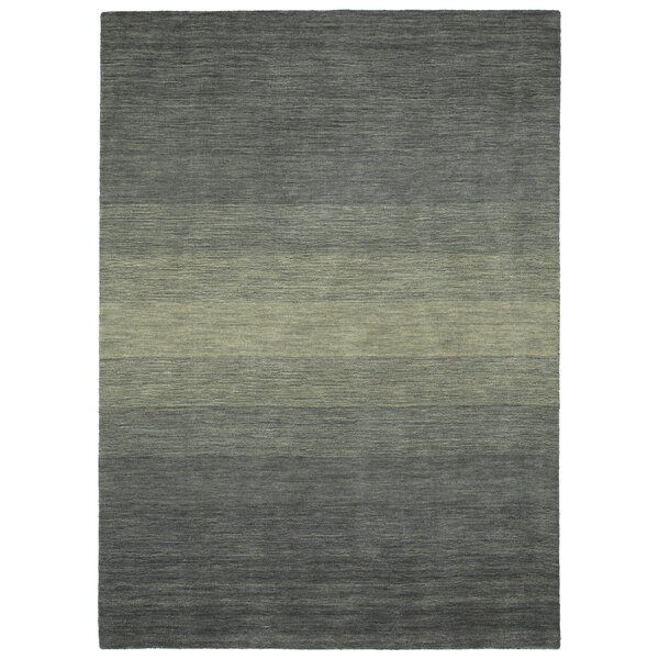 Fortune Hand Tufted Wool Grey Area Rug by 17 Stories