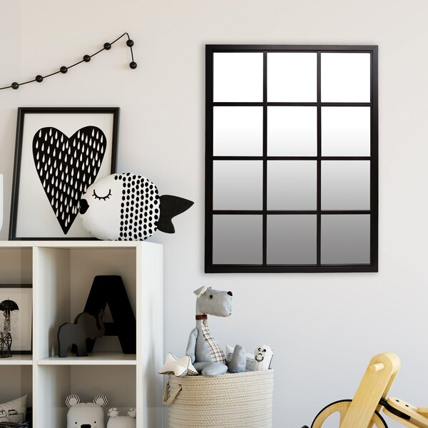 Chagoya Windowpane Accent Mirror by Gracie Oaks