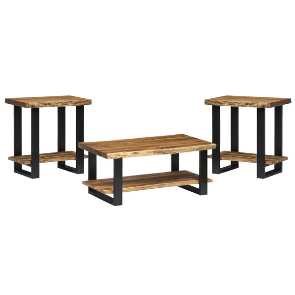Bexton 3 Piece Coffee Table Set by Foundry Select