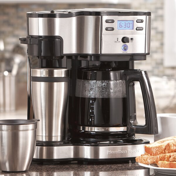 The Scoop Two Way 12-Cup Brewer Coffee Maker by Hamilton Beach