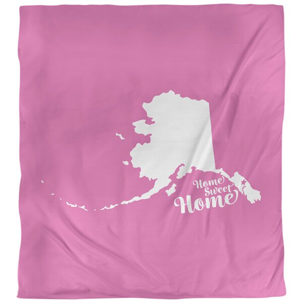 Home Sweet Juneau Duvet Cover