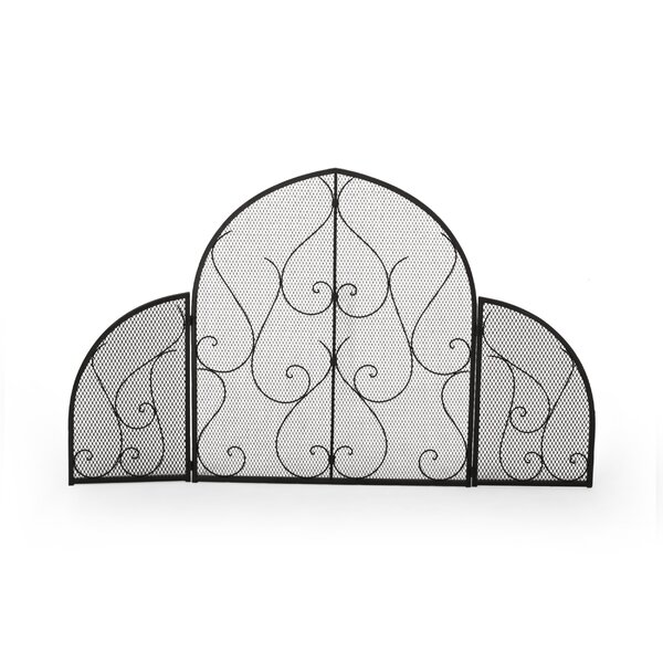 3 Panel Iron Fireplace Screen By Home Loft Concepts