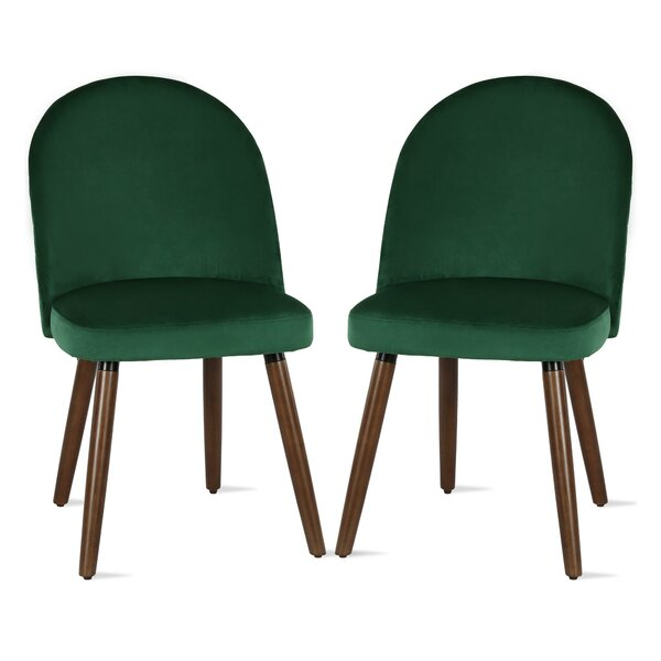 Burma Upholstered Dining Chair (Set of 2) by Novogratz