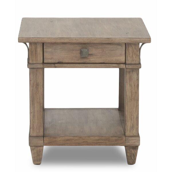 Ariel End Table by Gracie Oaks