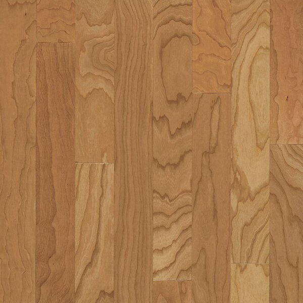 Turlington 5 Engineered Cherry Hardwood Flooring in Low Glossy Natural by Bruce Flooring