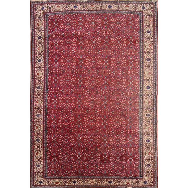 Hosking Sivas Turkish Traditional Oriental Hand-Knotted Wool Red/Burgundy Area Rug by Bloomsbury Market