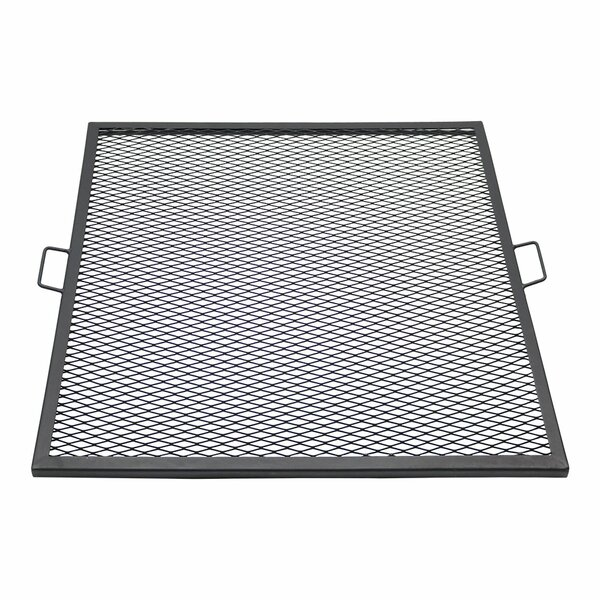 Waldenburg X-Marks 36 Square Fire Pit Cooking Grate by Freeport Park