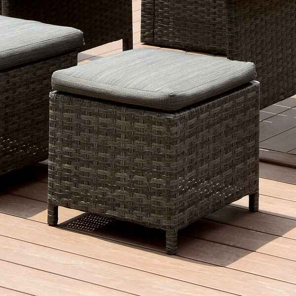 Camille Contemporary Ottoman with Cushion by Brayden Studio