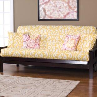 appletree zipper box cushion futon slipcover nature  u0026 floral futon covers you u0027ll love   wayfair  rh   wayfair