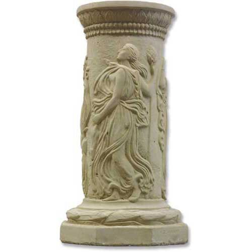 Dancing Muse Outdoor Pedestal by OrlandiStatuary