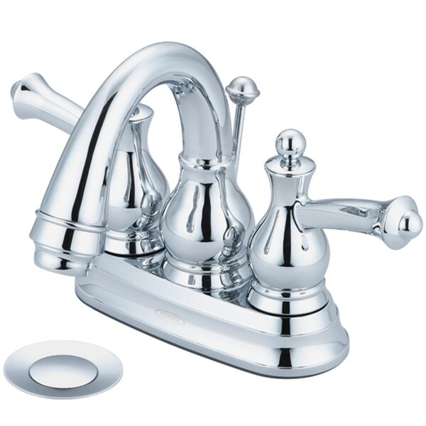 Bellaire Centerset Bathroom Faucet with Drain Assembly by Pioneer Pioneer