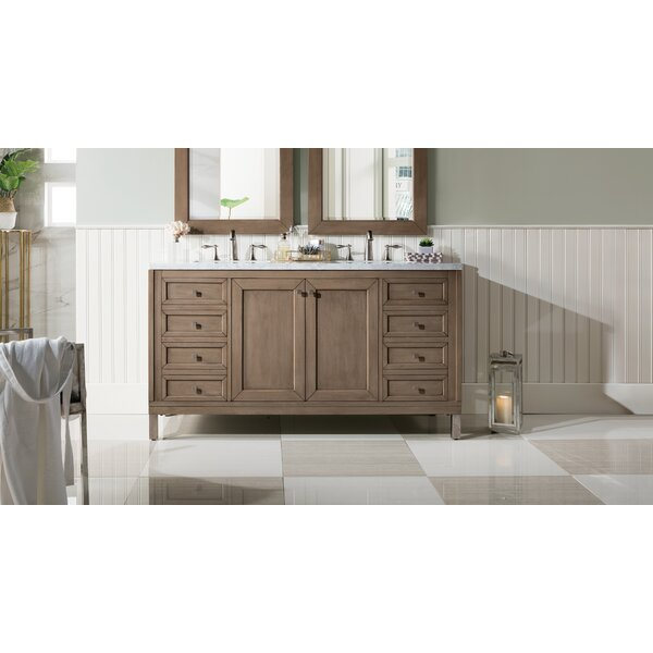 Whitworth 60 Double Bathroom Vanity Set by Brayden Studio
