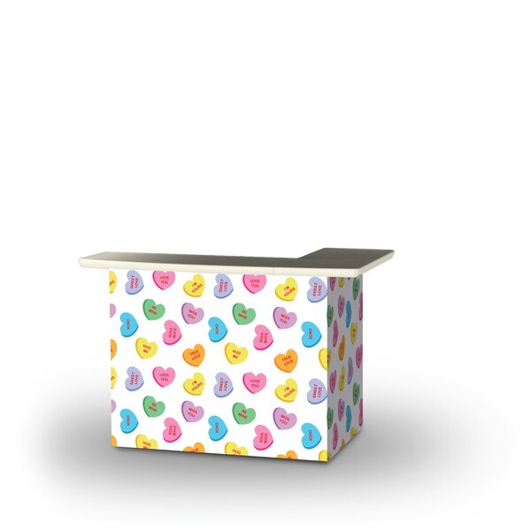 Yaeger Valentines Heart Candy Home Bar by East Urban Home