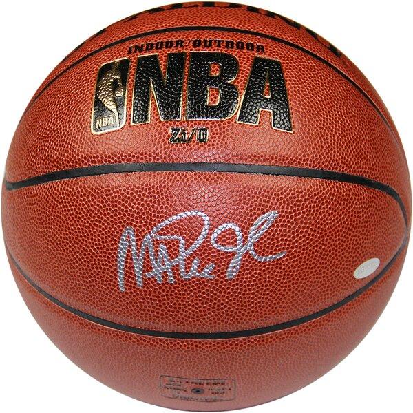 Magic Johnson Signed NBA Zi/O Basketball by Steiner Sports