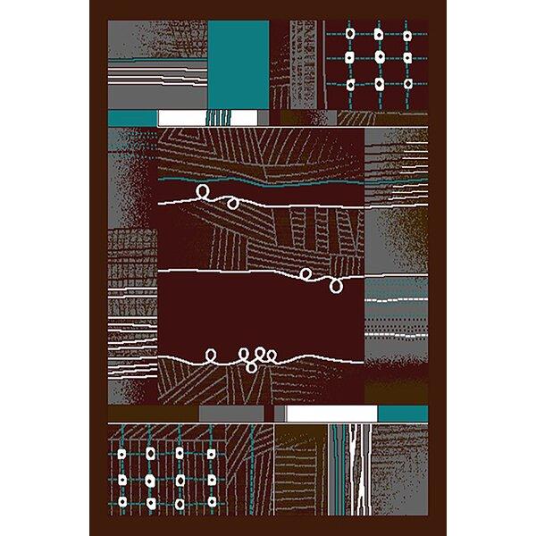 Cottrell Mocha Area Rug by Ebern Designs