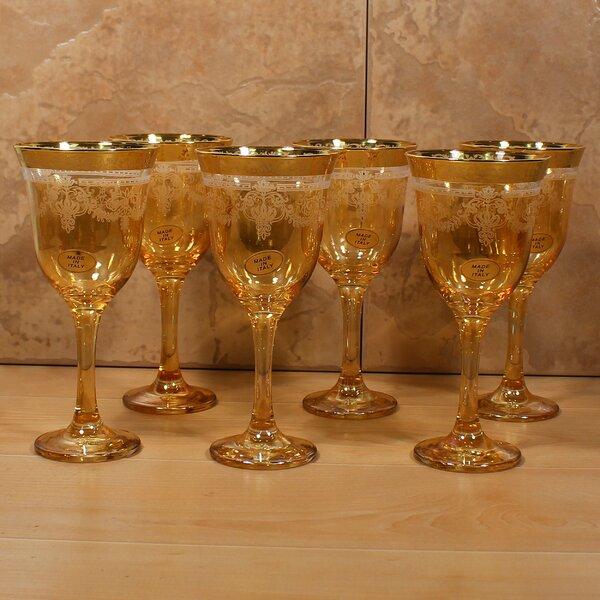 Corona 9 oz. Goblet (Set of 6) by Lorren Home Trends