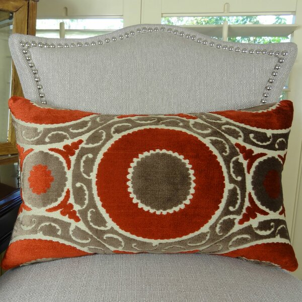 Pomegranate Double Sided Lumbar Pillow by Plutus Brands