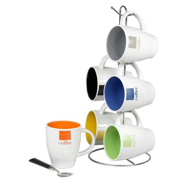 Hanley 7 Piece Coffee Mug Set by Ebern Designs