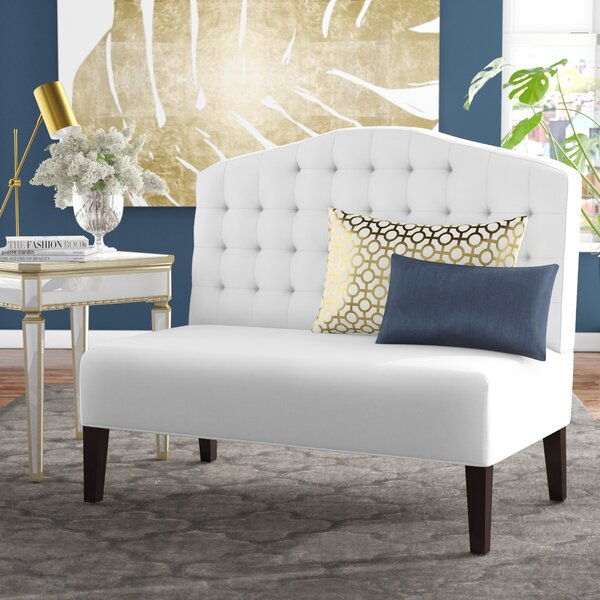 Monreal Upholstered Bench by House of Hampton