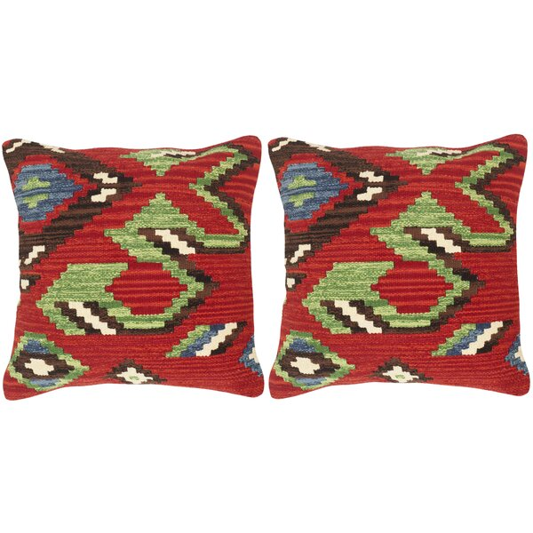 Canyon Cotton Throw Pillow (Set of 2) by Safavieh