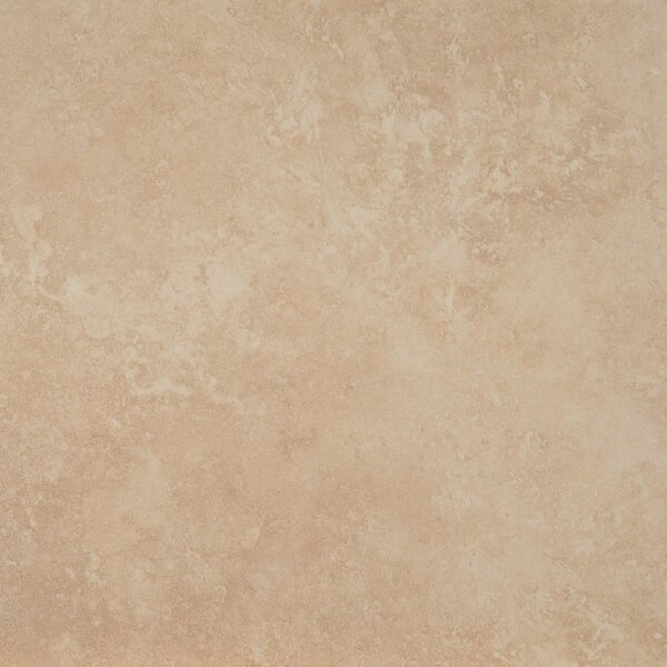 Travertino 18 x 18 Porcelain Field Tile in Beige by MSI