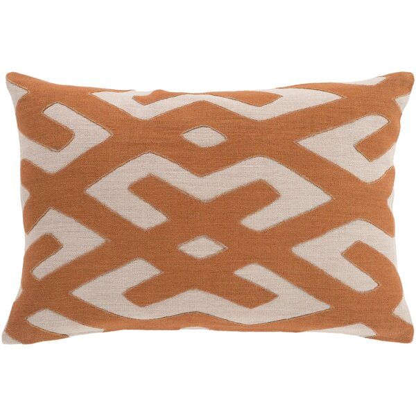 Alona Linen Lumbar Pillow by Bloomsbury Market