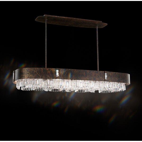 Zeppa 12-Light Kitchen Island Pendant by Schonbek