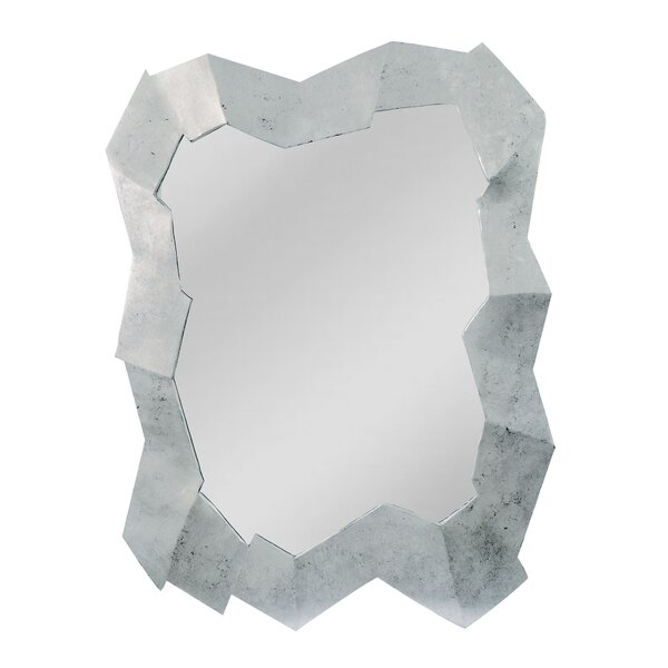 Abstract Cut Design Multi Dimensional Accent Mirror by Wade Logan
