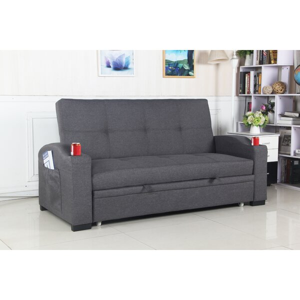 Closeout Leyna Sleeper Sofa by Latitude Run by Latitude Run