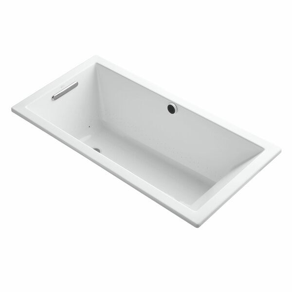 Underscore Bubblemassage 60 x 30 Soaking Bathtub by Kohler
