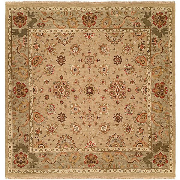 Tokyo Hand-Woven Ivory Area Rug by Wildon Home ®