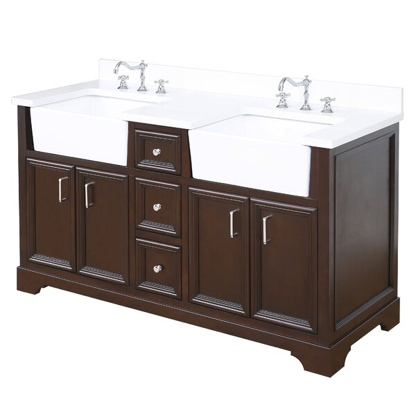 Zelda 60 Double Bathroom Vanity Set by Kitchen Bath Collection