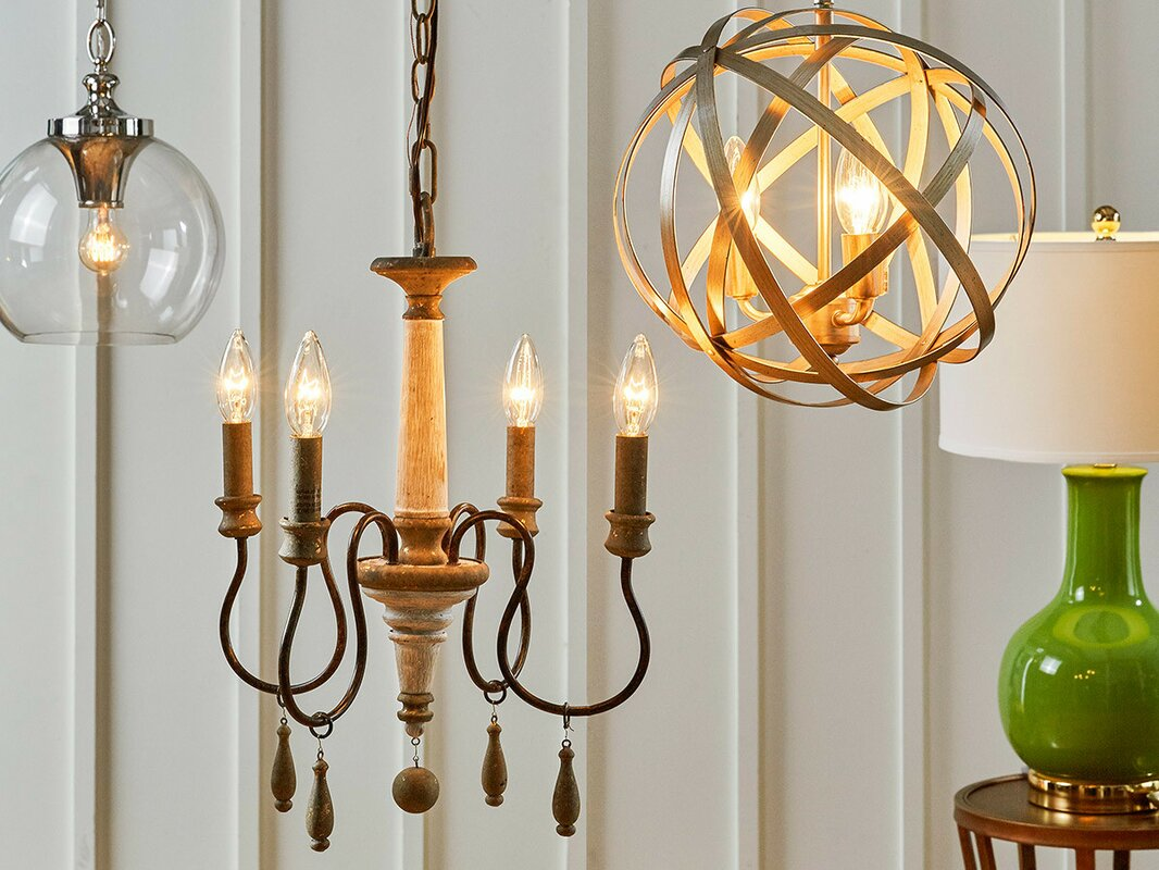 Armande candle style chandelier reviews joss main armande candle style chandelier audiocablefo
