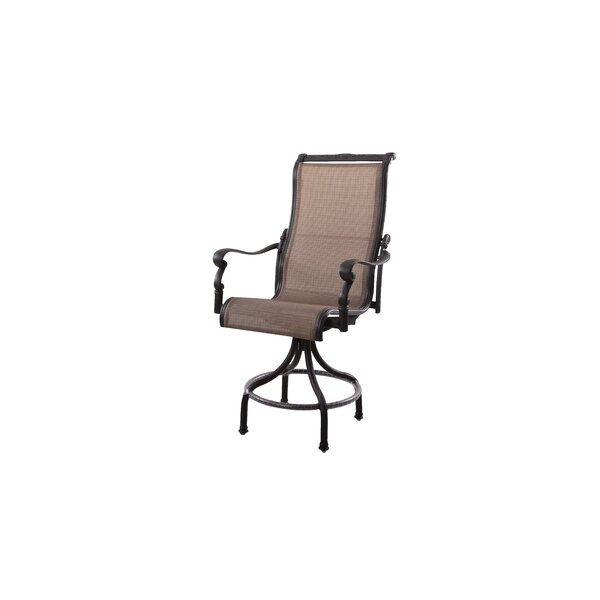 Bagwell 25 Patio Bar Stool by Darby Home Co