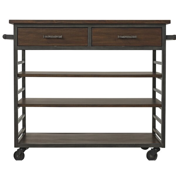 Zimmer Kitchen Island Manufactured Wood by Williston Forge