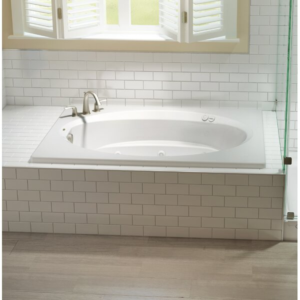 Signature® 72 x 42 Drop In Whirlpool Bathtub by Jacuzzi®