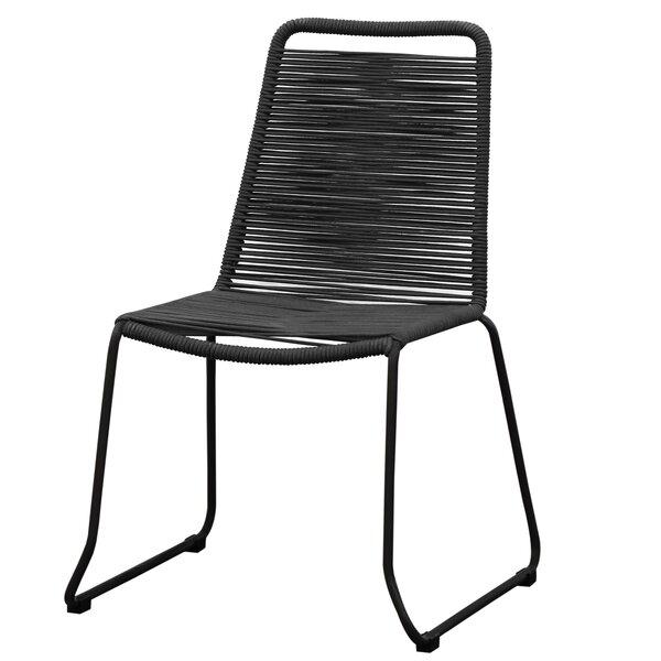 Rope Weaving Chair - Price Set Of 2 Steel Frame Rope Weaving (Set of 2) by Brayden Studio Brayden Studio