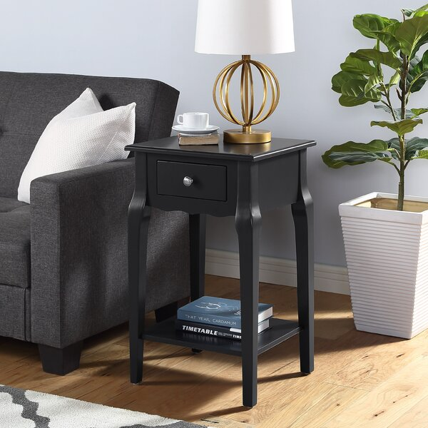 Olmead End Table With Storage By One Allium Way
