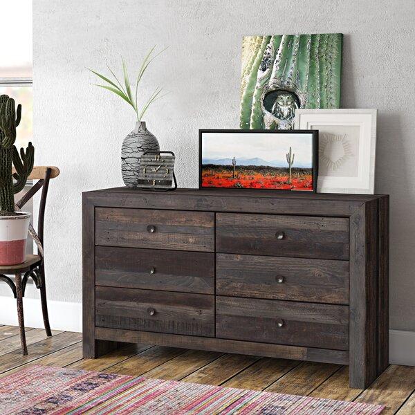 Kelloch 6 Drawer Double Dresser by Trent Austin Design