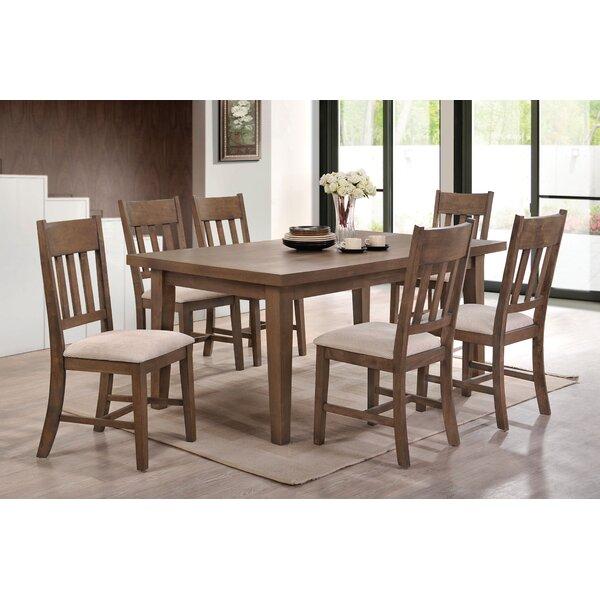 #2 Tribble 7 Piece Dining Set By Red Barrel Studio Great price