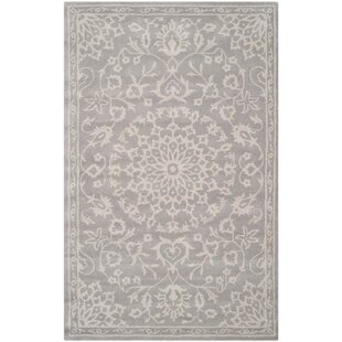 Clare Wool Gray/Silver Area Rug by Birch Lane™ Heritage