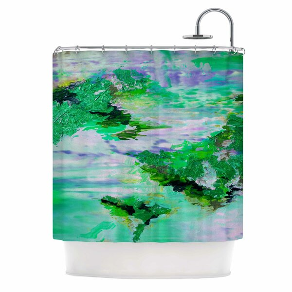 On Cloud Nine 6 by Ebi Emporium Shower Curtain by East Urban Home