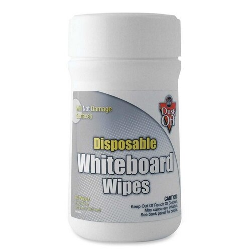 Whiteboard Wipes, Disposable, 80 Wipes by Falcon Safety