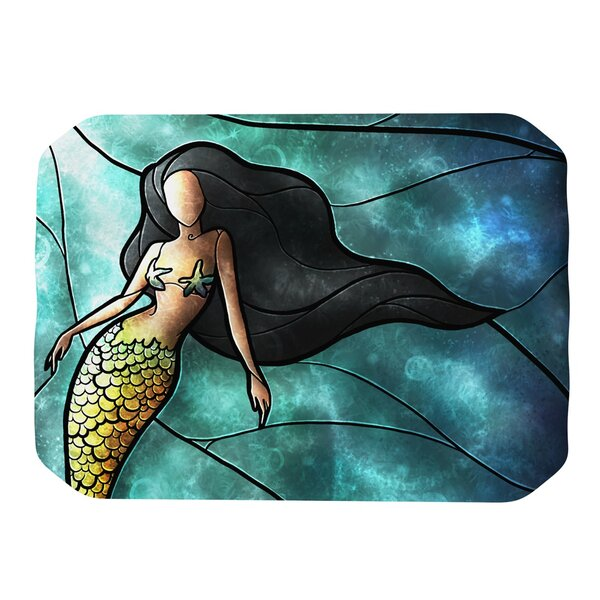 Mermaid Placemat by KESS InHouse